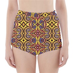 APART ART High-Waisted Bikini Bottoms