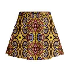 Apart Art Mini Flare Skirt