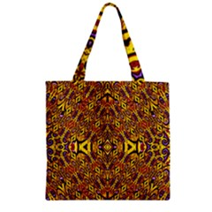 APART ART Zipper Grocery Tote Bag