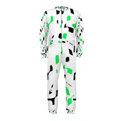 Green, black and white pattern OnePiece Jumpsuit (Kids)