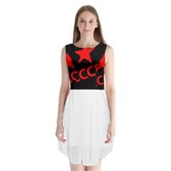 Russia Sleeveless Chiffon Dress