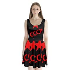 Russia Split Back Mini Dress