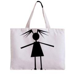 Teenage girl Zipper Mini Tote Bag