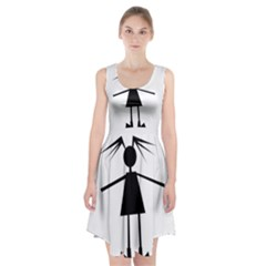 Teenage girl Racerback Midi Dress