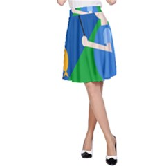 Fisherman A-Line Skirt