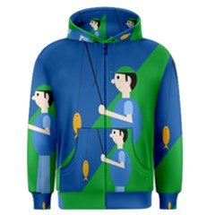 Fisherman Men s Zipper Hoodie