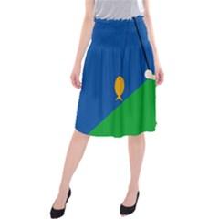 Fisherman Midi Beach Skirt