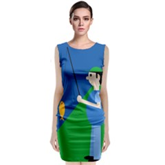 Fisherman Classic Sleeveless Midi Dress
