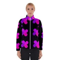 Purple Flowers Winterwear