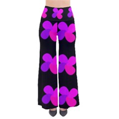 Purple Flowers Pants
