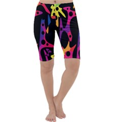 Colorful pattern Cropped Leggings
