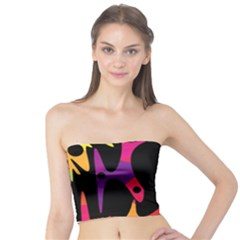 Colorful pattern Tube Top