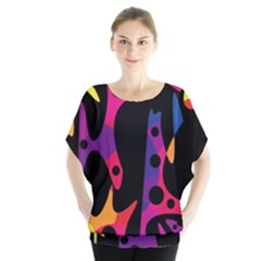 Colorful pattern Blouse