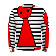 Red pawn Men s Sweatshirt
