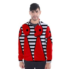 Red pawn Wind Breaker (Men)