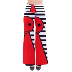 Red pawn Pants
