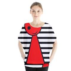 Red pawn Blouse