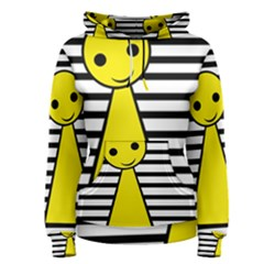 Yellow pawn Women s Pullover Hoodie