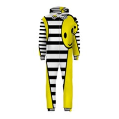 Yellow pawn Hooded Jumpsuit (Kids)