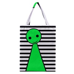 Green pawn Classic Tote Bag