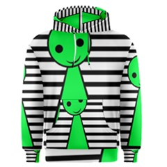 Green pawn Men s Pullover Hoodie