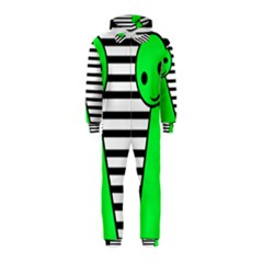 Green pawn Hooded Jumpsuit (Kids)