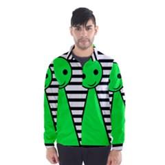 Green pawn Wind Breaker (Men)