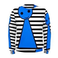 Blue pawn Men s Sweatshirt