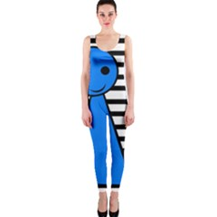 Blue pawn OnePiece Catsuit