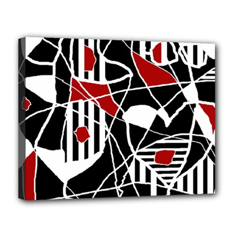 Artistic abstraction Canvas 14  x 11