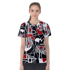 Artistic abstraction Women s Cotton Tee