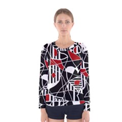 Artistic abstraction Women s Long Sleeve Tee