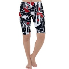 Artistic abstraction Cropped Leggings