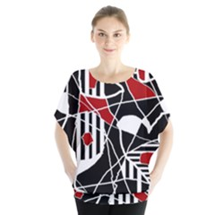 Artistic abstraction Blouse