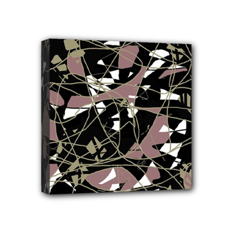Artistic abstract pattern Mini Canvas 4  x 4