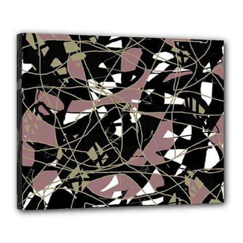 Artistic abstract pattern Canvas 20  x 16