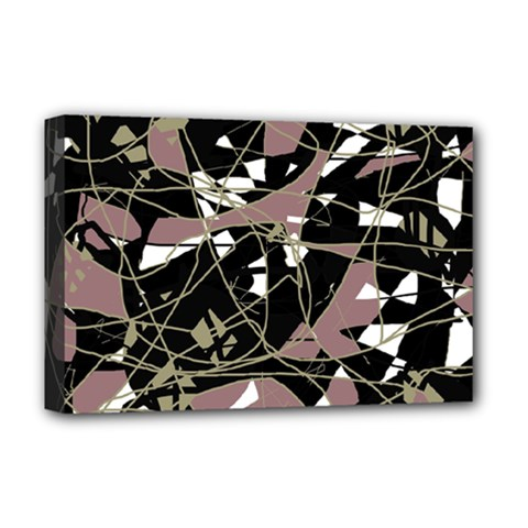 Artistic abstract pattern Deluxe Canvas 18  x 12
