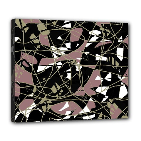 Artistic abstract pattern Deluxe Canvas 24  x 20