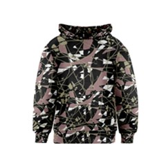 Artistic abstract pattern Kids  Pullover Hoodie