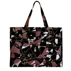 Artistic abstract pattern Zipper Mini Tote Bag