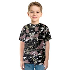 Artistic abstract pattern Kid s Sport Mesh Tee