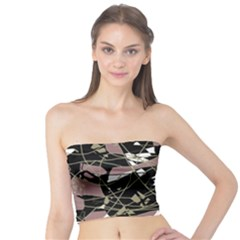 Artistic abstract pattern Tube Top