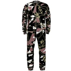 Artistic abstract pattern OnePiece Jumpsuit (Men)