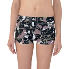 Artistic abstract pattern Boyleg Bikini Bottoms