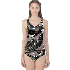 Artistic abstract pattern One Piece Swimsuit