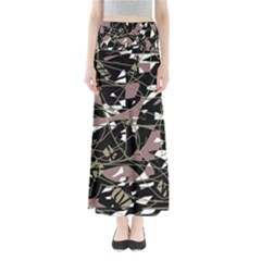 Artistic abstract pattern Maxi Skirts