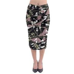 Artistic abstract pattern Midi Pencil Skirt