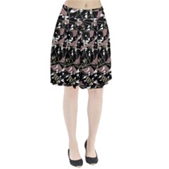 Artistic abstract pattern Pleated Skirt