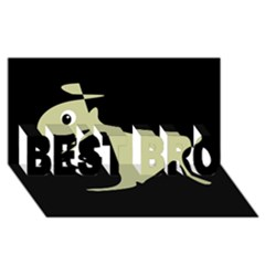 Kangaroo BEST BRO 3D Greeting Card (8x4)