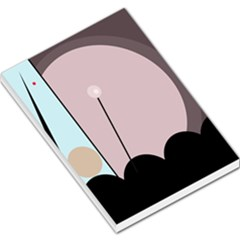 Abstract design Large Memo Pads